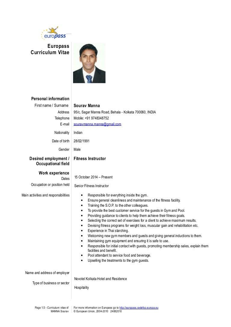 Charming Formato Curriculum Vitae Filetype Doc Photos Entry Level