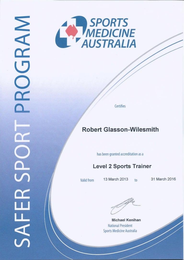 Certificate Level 2 SMA Sports Trainer 2013 2016 57faf777 5dd2 4d41 Be87  1bd983237d9b 151126035954 Lva1 App6891