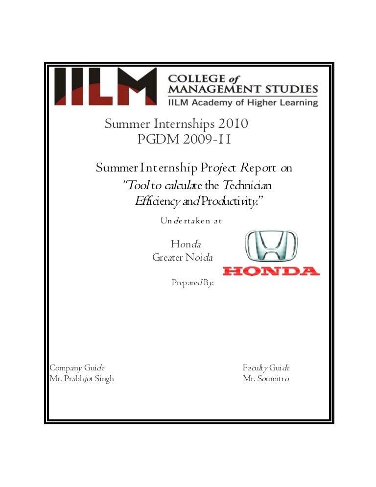 Internship-Report