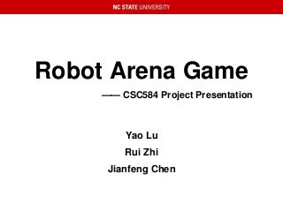 Robot Arena Game
