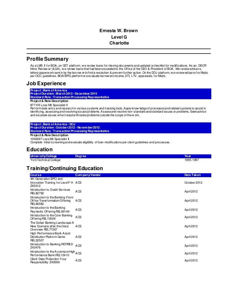accenture resume