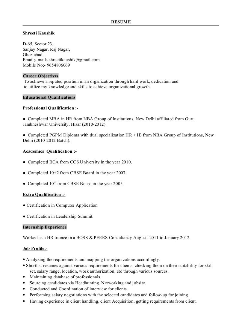 Shreeti- Updated Resume- Professional
