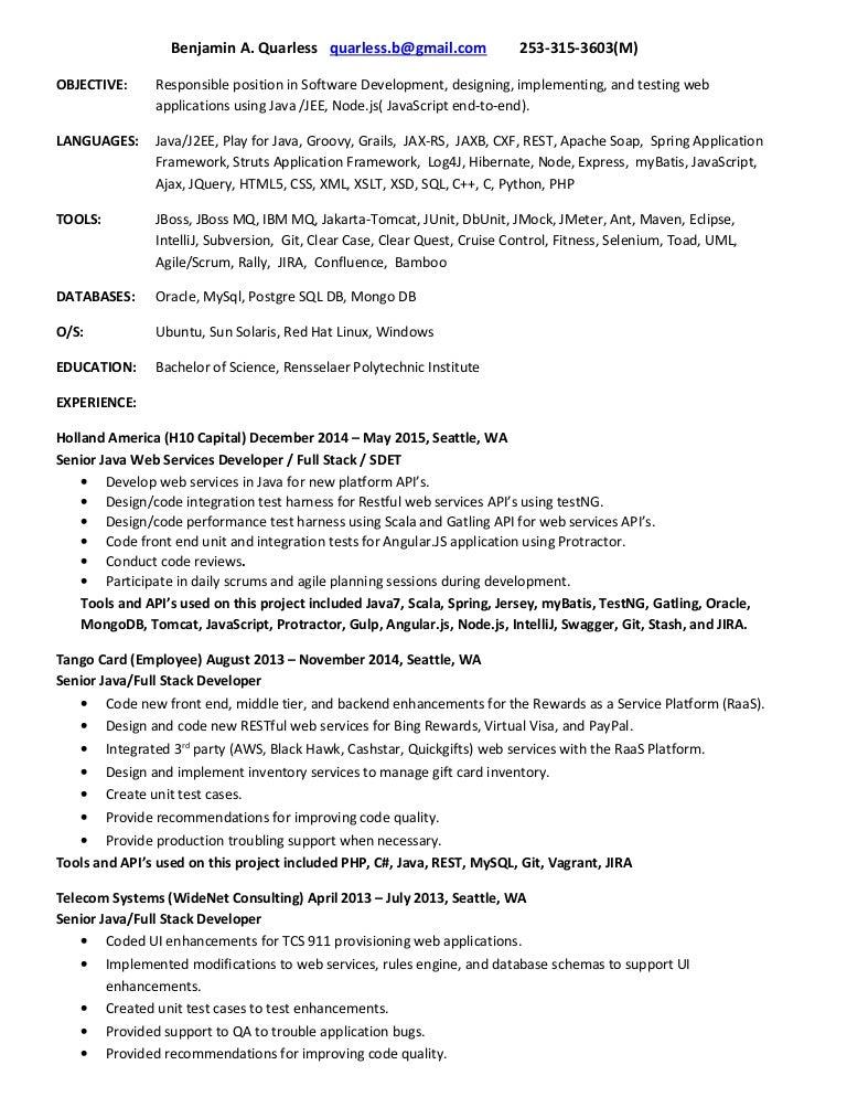 Resume2015-V1
