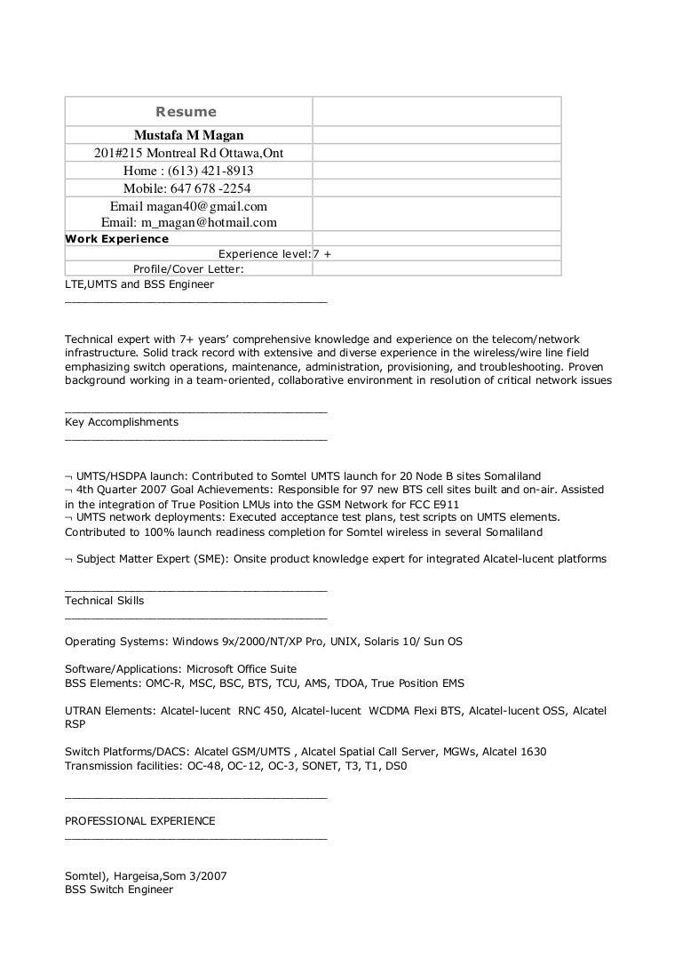 Resume MMMagan