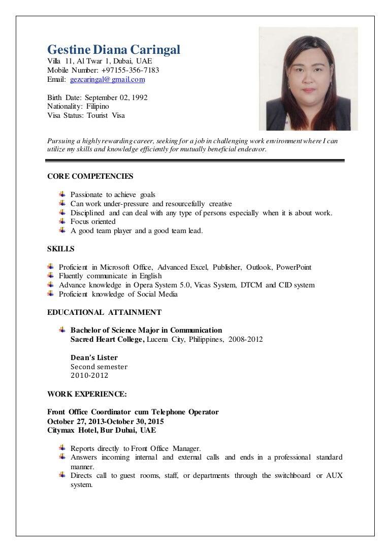 Gestine Caringal-final resume (2)