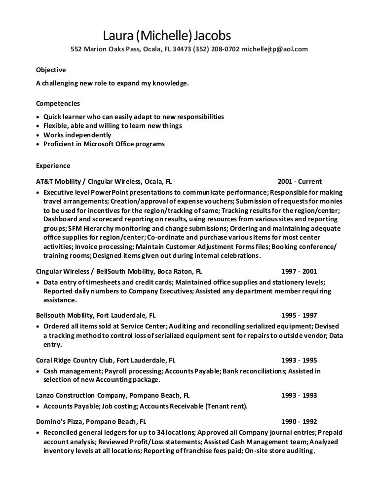 Laura Michelle Jacobs Resume 2016