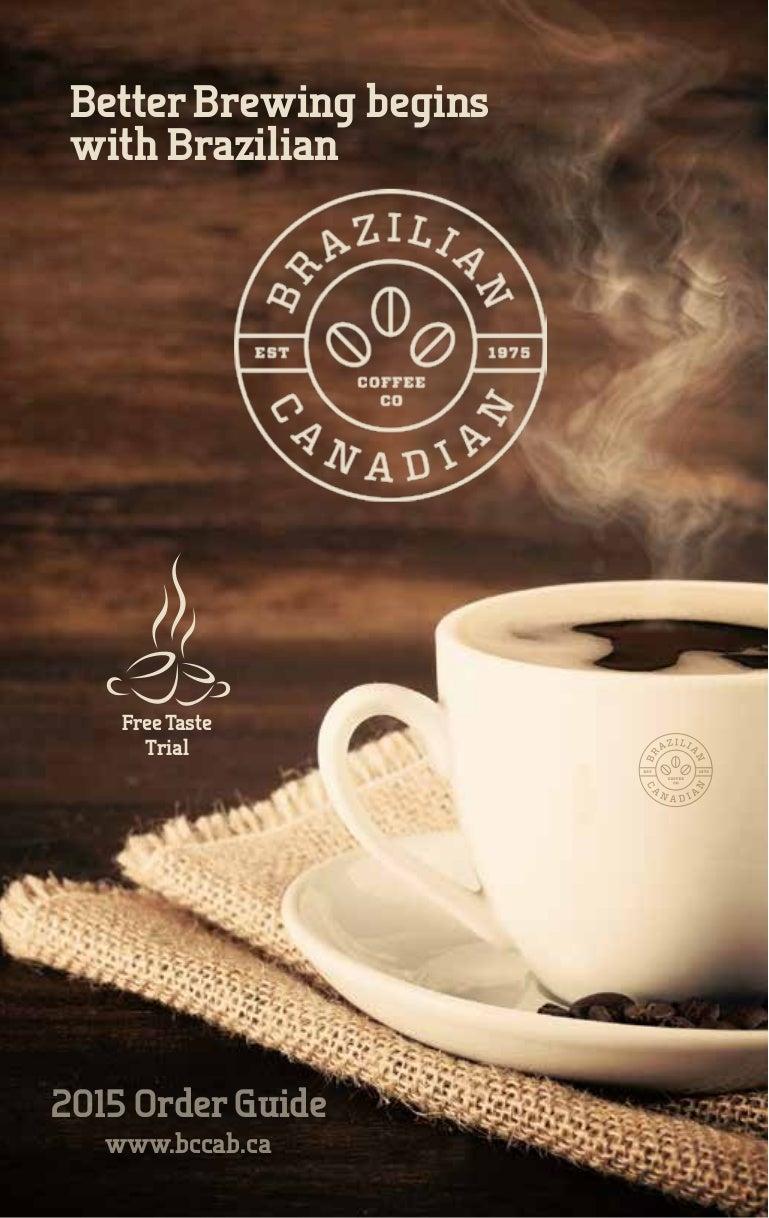 2015 Brazilian Coffee Catalog