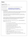 Instrument Supervisor CV