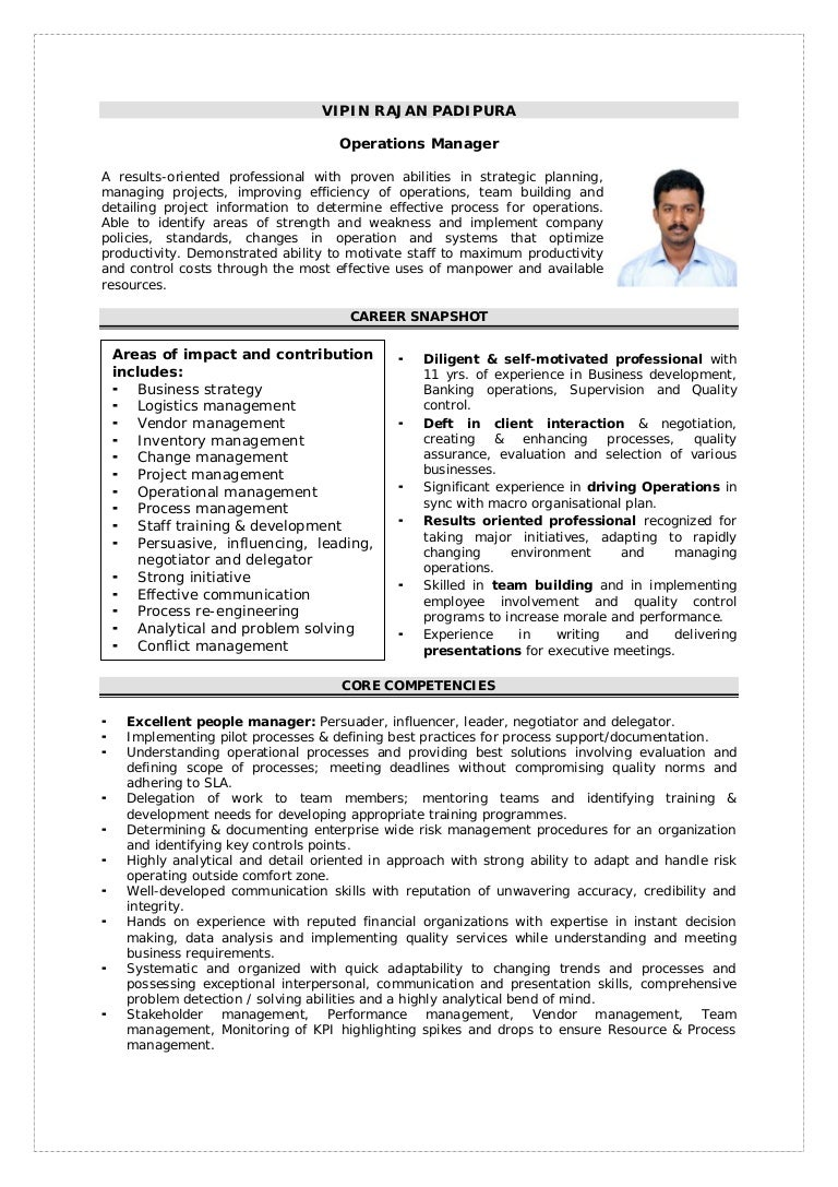 Vipin Rajan Padipura Resume