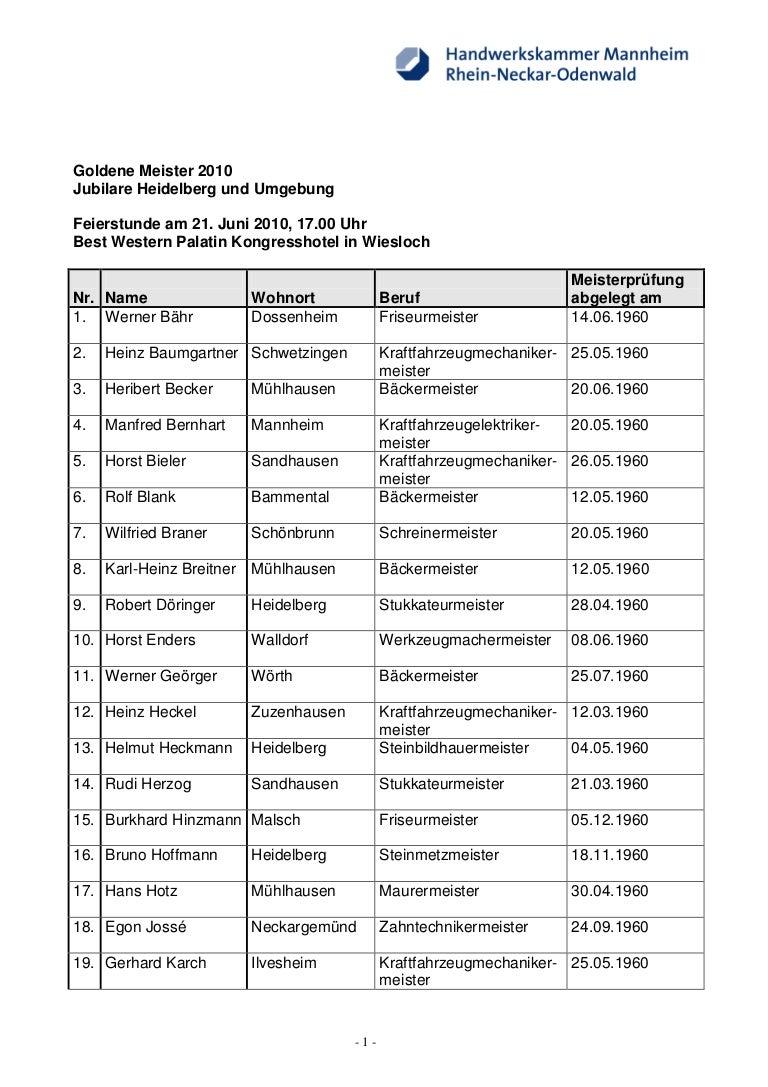 Deutscher Meister Liste