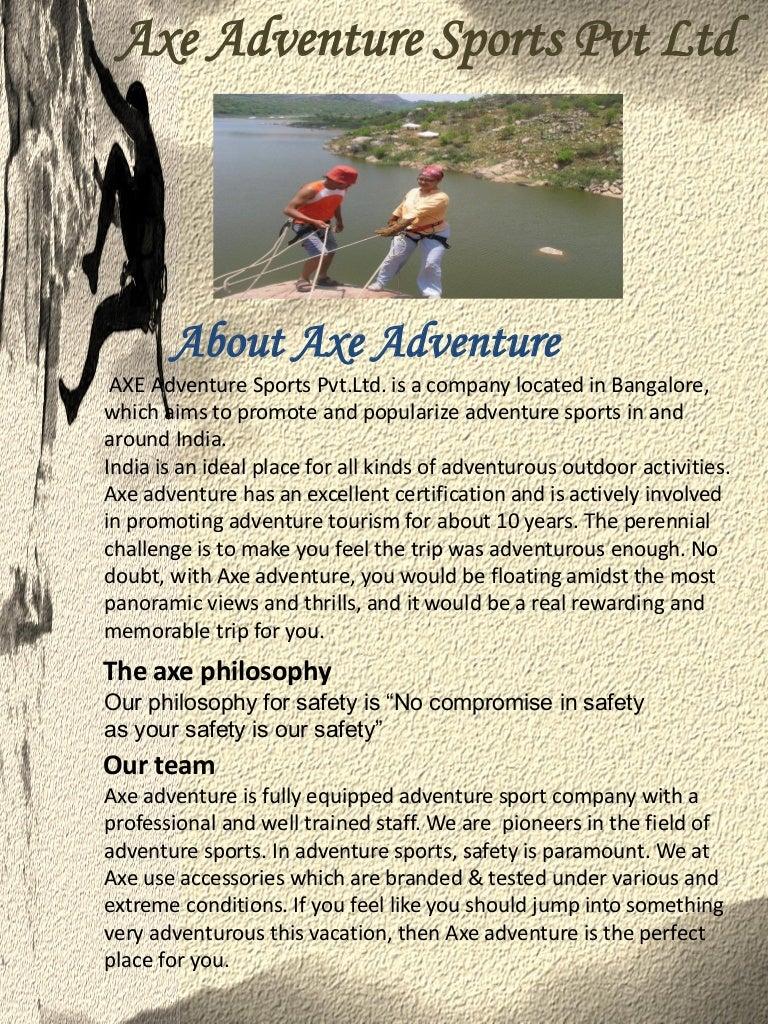 Axe Adventure Company Profile