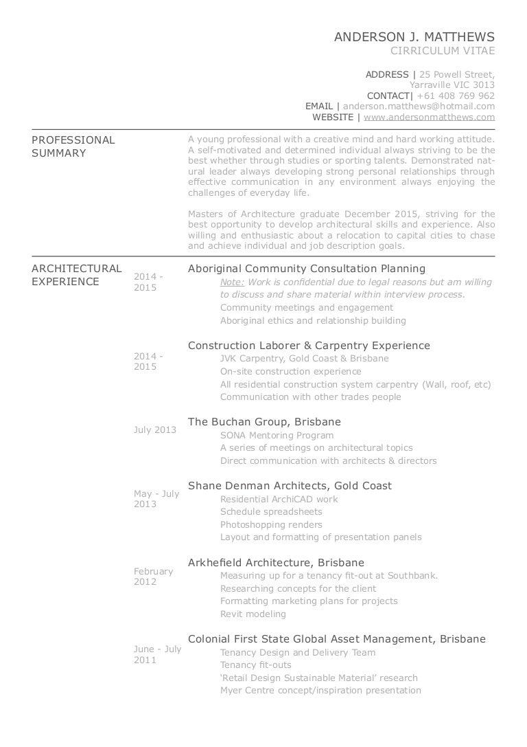 Curriculum Vitae_Anderson Matthews