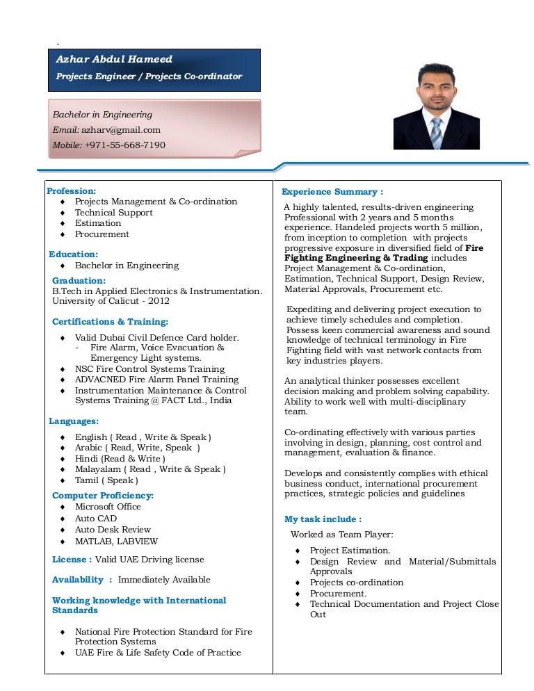 Azhar Hameed (Resume-2017)