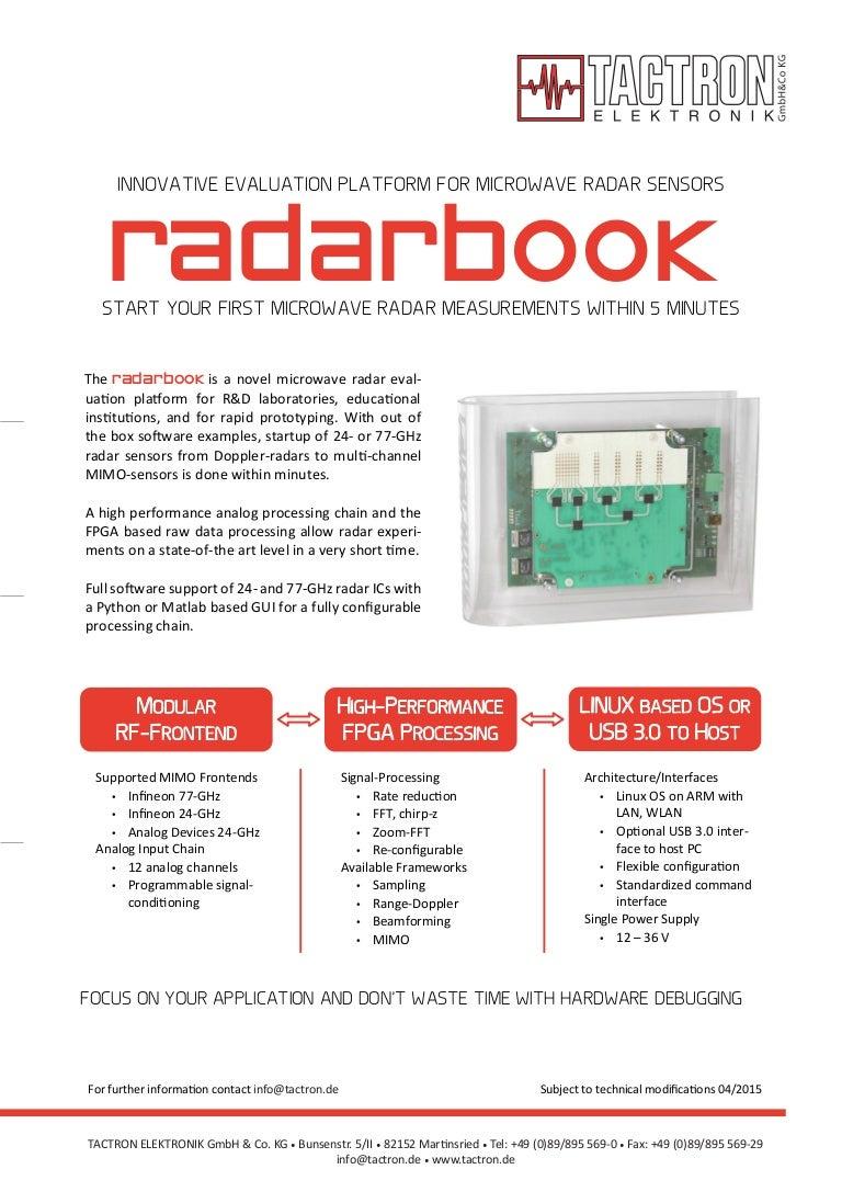 Radarbook Brochure_TACTRON