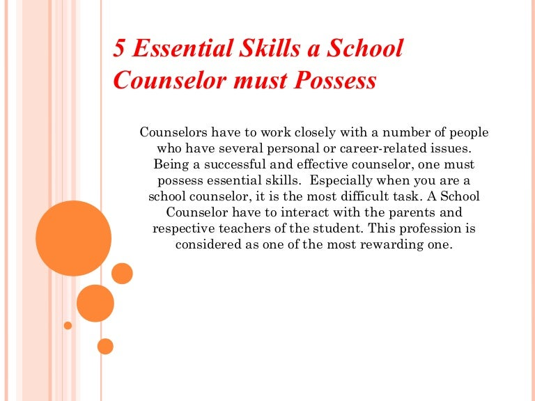 5 Essential Skills A School Counselor Must Possess