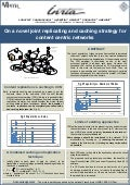CCNxCon2012: Poster Session:On a Novel Joint Replicating and Caching Strategy for Content-Centric Networks