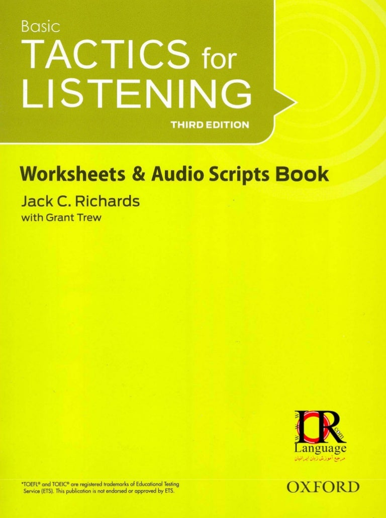 tactics for listening developing pdf free download