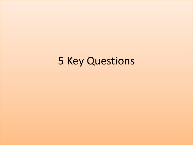 eng4u unit 5 key questions English – eng4c unit 1 copyright © 2004, durham continuing education page 7 of 88 unit one:  there are four key questions to the first lesson.