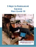 Rethink your Restaurant Business Plan - Post Covid 19