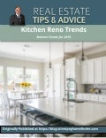 5 Kitchen Reno Trends for 2019