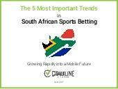 5 Most Important Trends in South African Sports Betting - Chalkline Sports