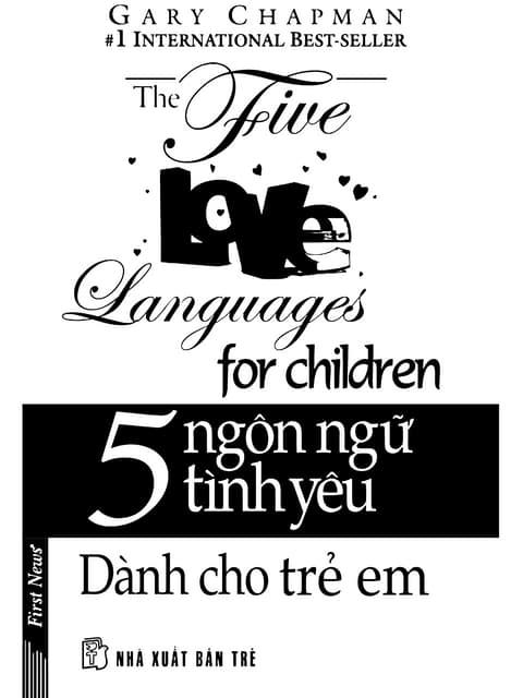 Sách 5 Ngôn Ngữ Tình Yêu Dành Cho Trẻ Em