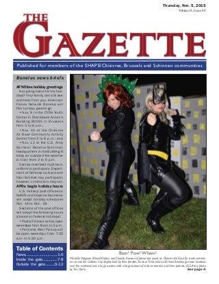 The Gazette - 5 Nov 2015