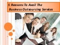 Business Process Outsourcing Services: A List of Benefits by Cogneesol