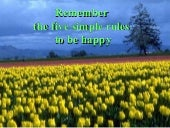 5 Rules of Life