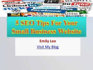 5 seo tips for your small business website