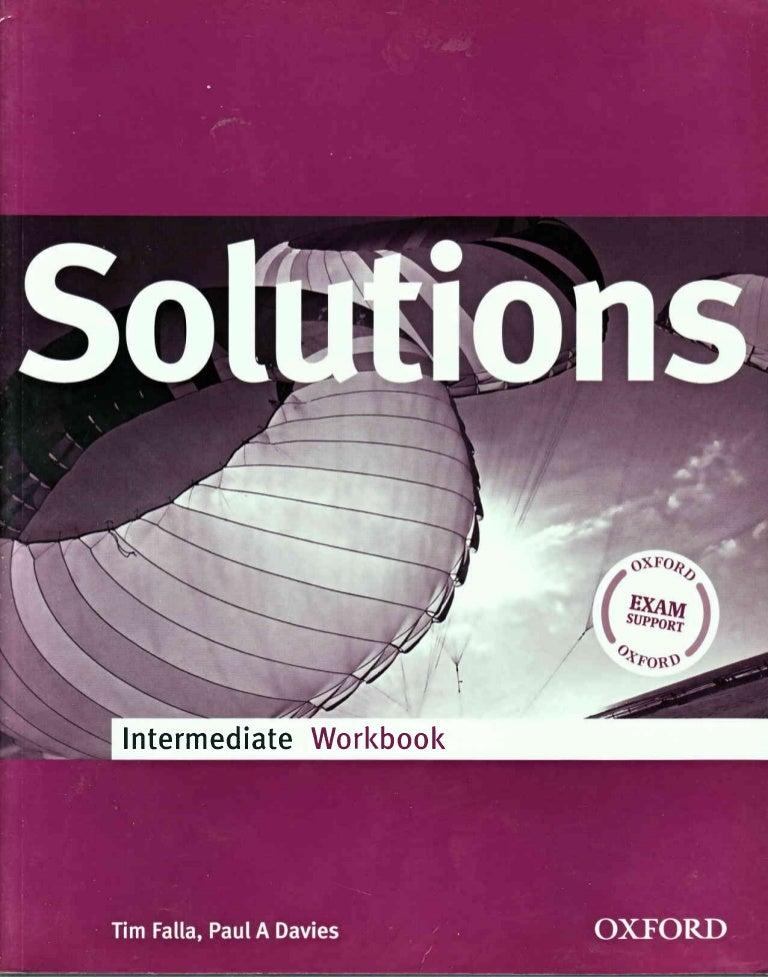 5 Solutions Intermediate Workbook
