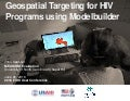 Geospatial Targeting for HIV Programs Using Modelbuilder