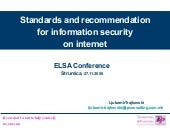 5 Standards And Recommendations For Information Security On Internet