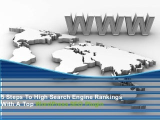 5 steps to high search engine rankings with a top word press seo plugin