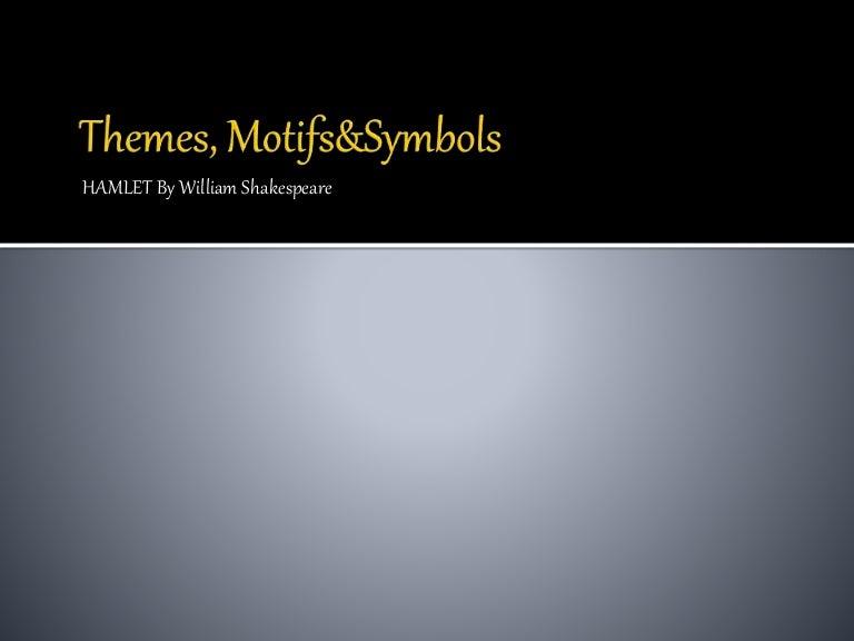 5 Themes Motives Symbols