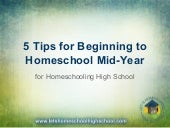 5 Tips for Beginning to Homeschool Mid-Year