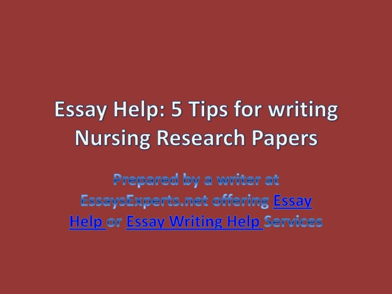 Essays On Science  Essays On Health Care Reform also Good Thesis Statement Examples For Essays Essay Help  Tips For Writing Nursing Research Papers High School Narrative Essay
