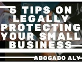 5 Tips on Legally Protecting Your Small Business | Abogado Aly