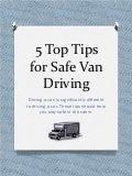 5 top tips for safe van driving