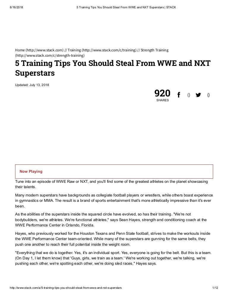 9cd870abdda9 5 Training Tips You Should Steal From WWE and NXT Superstars