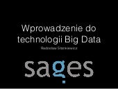 Wprowadzenie do technologii Big Data / Intro to Big Data Ecosystem
