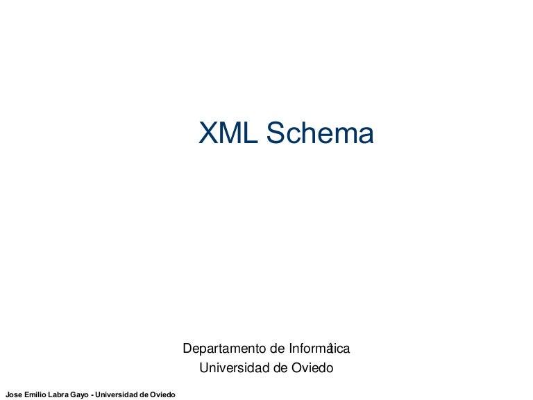 Introducción a XML Schema