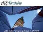 Startup Stage #10 - Meetups - ALE Krakow