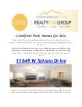 Realty One Group Home For Sale Litchfield Park,Pebblecreek & Peoria
