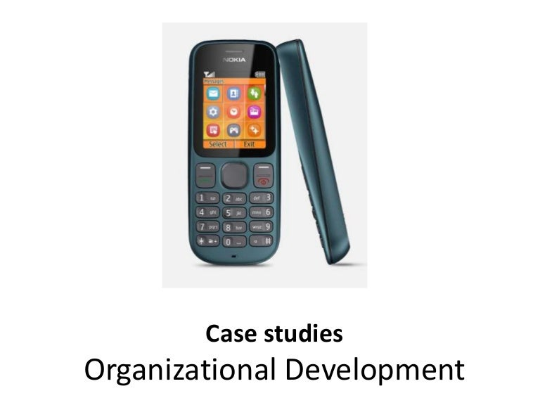 organizational change and development case studies