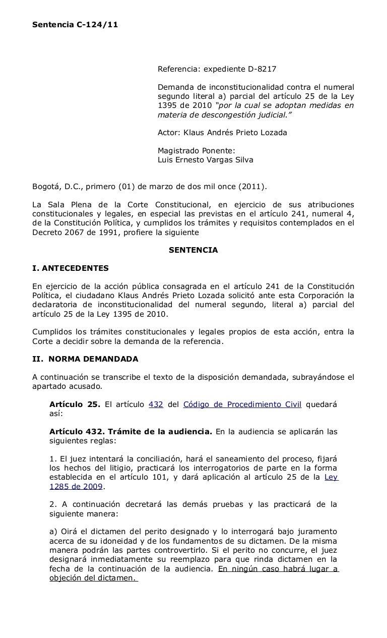 6.objecion del dictamen pericial c 124-11 n2