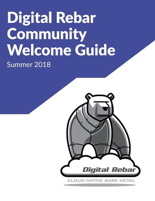 Digital Rebar Community Welcome Guide