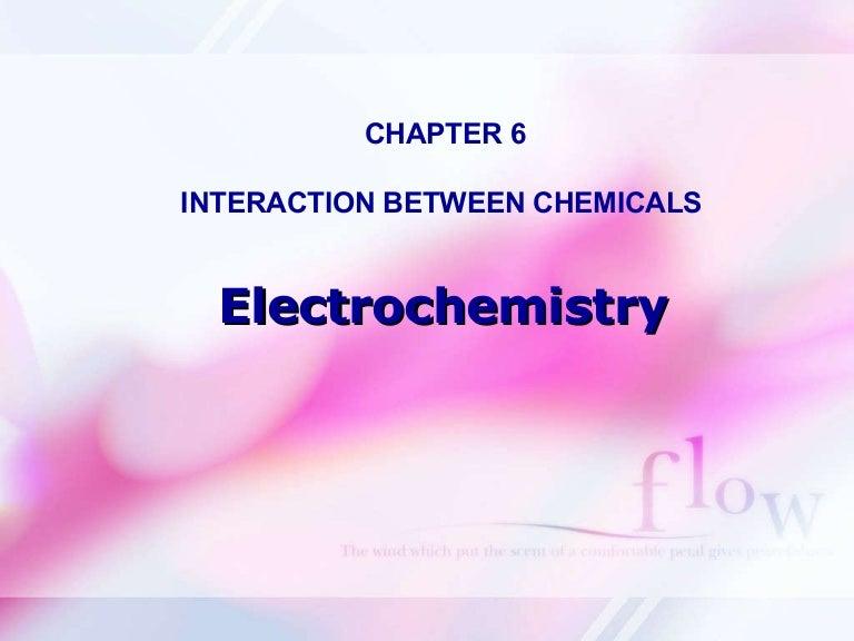 Ppt On Electrochemistry Class 12