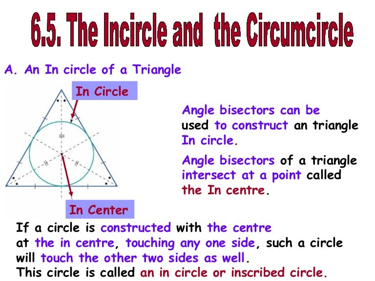 CIRCUMCIRCLE AND INCIRCLE EBOOK DOWNLOAD