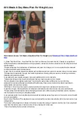 Mike chang how to lose belly fat